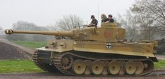 The German Tiger tank is perhaps one of the most iconic vehicles of World War II, and at Tank Museum, Bovington in the UK, they have the only Tiger tank in