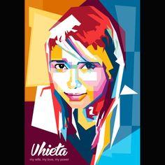 @janattajri on Instagram #WPAPcommunity #wedhaspopartportrait #popart #indonesianpopart #wpap