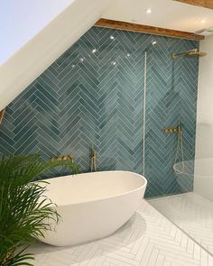 Bad Inspiration, Bathroom Inspiration, Home Decor Inspiration, Decor Ideas, Small Space Bathroom, Modern Bathroom, Dream Bathrooms, Beautiful Bathrooms, Bathroom Renos