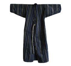 A Child's or Adolescent's Everyday Kimono: Woven Stripes