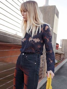 15 Fresh New Ways to Wear Lace via @WhoWhatWearUK
