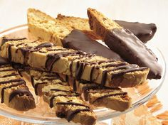 Use a foolproof cake mix for an easy way to coffee-shop biscotti, the Italian twice-baked cookie.