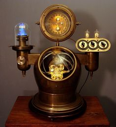 Art Donovan's All Manner of Steampunk Illuminated Devices