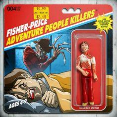 Fisher Price Adventure People Killers - Krueger Victim - Phil Postma