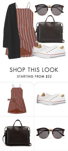 """""""Outfit #1806"""" by lauraandrade98 on Polyvore featuring moda, Converse, Balenciaga, Illesteva y Gap"""