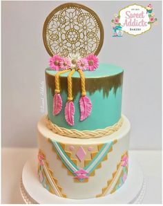 Beautiful southern birthday cake