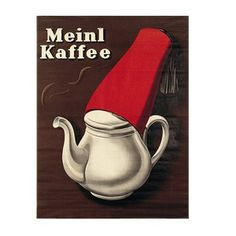 Shop with Julius Meinl online and enjoy a cup of Meinl coffee at home. Vintage Advertising Posters, Vintage Advertisements, Vintage Posters, Cafe Restaurant, Meinl Kaffee, Brand Identity, Branding, Honey Bunny, Poster Ads