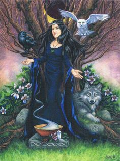Morrigan, The Lady of the Crows 24