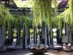 the siam, luxury urban resort in Bangkok, architect and interior/landscape designer Bill Bensley.: