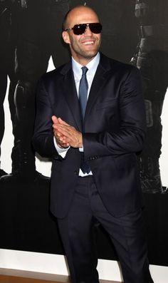 Charme e elegância, esse duas palavras define vc, Jason Statham... The best...
