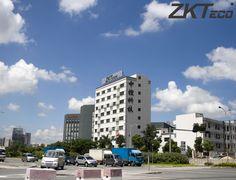 ZKTeco Head Office in Shenzen, China.