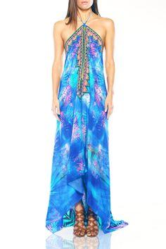 Designer Maxi Dresses Beach Dress Shahida Parides - Shahida Parides
