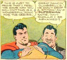 superman knits!