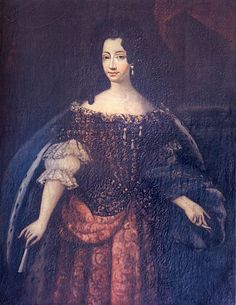 Ann-Marie d'Orleans, princesse de France, Duchess of Savoy and Queen of Sardinia (1669-1728), youngest child of Philippe d'Orleans and Henriette-Anne of England, 1690, unknown artist