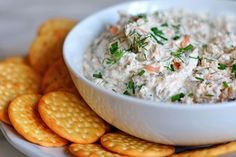TESTED & PERFECTED -- An elegant smoked salmon dip to make for a party. Delicious on crackers with cocktails or on a brunch buffet with bagels.