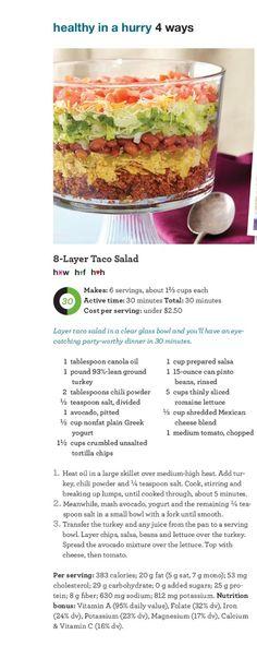 Taco salad-Dinner tomorrow night