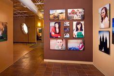 Nice gallery wrap display.