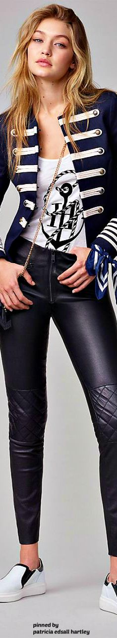Gigi Hadid – TommyXGiGi 2016