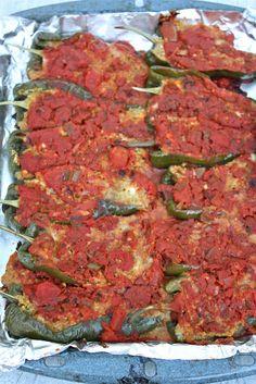 Sreelus Tasty Travels: stuffed peppers