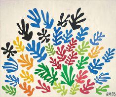 Henri Matisse, Il fascio (La Gerbe), 1953.