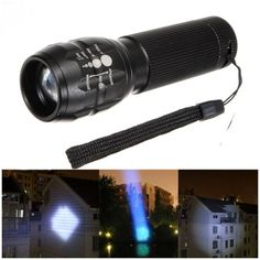 Q5 500LM 3Modes Zoomable Mini LED Flashlight AAA
