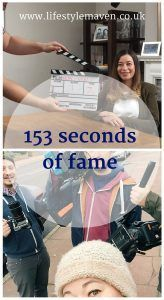 I can finally reveal why I was wandering around the neighbourhood with a camera crew a few weeks ago. Here's my 153 seconds of fame http://www.lifestylemaven.co.uk/153-seconds-of-fame/?utm_campaign=coschedule&utm_source=pinterest&utm_medium=Vicki%20Marinker%2C%20Blogger%20at%20LifestyleMaven.co.uk%2C%20for%20your%20fabulous%2040s%20and%20beyond&utm_content=153%20seconds%20of%20fame