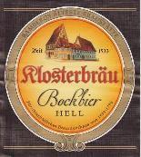 Klosterbräu Bockbier Hell