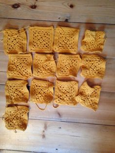 Yellow blanket - some way to go
