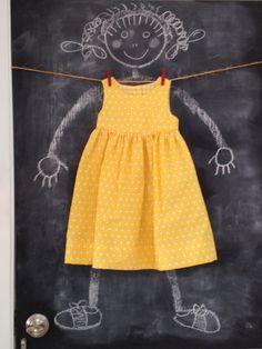 Itsy Bitsy Teeny Weeny Polka Dot Dress Sizes by BabySuzannaJohanna, $40.00