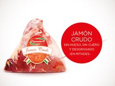 Jamón Crudo (Sin Hueso, sin Cuero) - Piamontesa