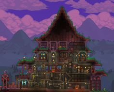Tried to make a nice house for my new character, what do you guys think? - Imgur