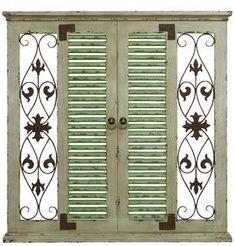 Wayfair Window Rustic Wood and Metal Wall Decor #affiliate