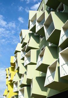 Яркий и причудливый жилой комплекс в Дании | Дизайн интерьера, декор, архитектура, стили и о многое-многое другое