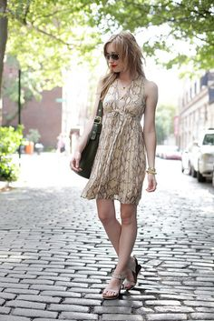 neutrals    dress: h  sunnies: c/o kenneth cole (similar)  shoes: c/o tsubo  bag: c/o coach   lipstick: NARS heatwave  jewels: c/o sorrelli, wanderlust  necklaces: saint claude, c/o baublebar