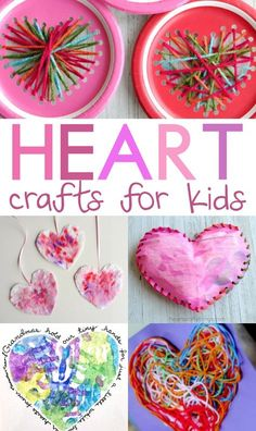 If you feel like the year is already flying by, sit down with your children, and make some of these heart crafts for kids for Valentines Day. #valentinesday #valentinesdaycrafts #valentinesdayideas #craftsforvalentines