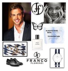 """7#Franco Florenzi"" by kivericdamira ❤ liked on Polyvore featuring Chanel, Jil Sander, men's fashion, menswear and francoflorenzi"