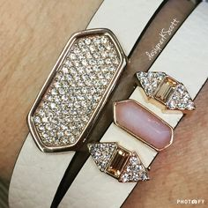 Sparkle and shine! My KEEP of the day today is the double leather band in… Keep Bracelet, Bracelets, Keep Collection, Shes A Keeper, The Day Today, Keep Jewelry, Michael Kors Watch, Rose Quartz, Jewlery