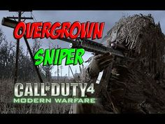 CALL OF DUTY 4 MODERN WARFARE DUELO A MUERTE OVERGROWN SNIPER PC GAMEPLA...
