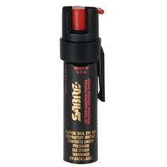 SABRE 3-IN-1 Pepper Spray - Advanced Police Strength - Compact Size with Clip, C  | eBay