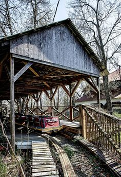 The rotting structures of the abandoned Williams Grove Amusement Park near Mechanicsburg are hauntingly beautiful.