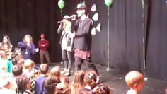 Green day 2012, x factor band played live at broadfield school