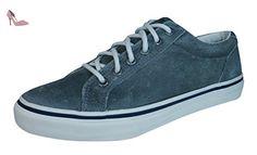 Sperry Striper Ltt Leather, Baskets pour homme - gris - gris, EU 45 (