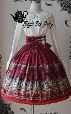 Magic Tea Party Zodiac High Waisted Skirt