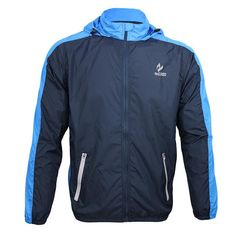 ARSUXEO Breathable Running Clothing Long Sleeve Jacke Wind Coat Men's Windproof Waterproof Cycling Bicycle