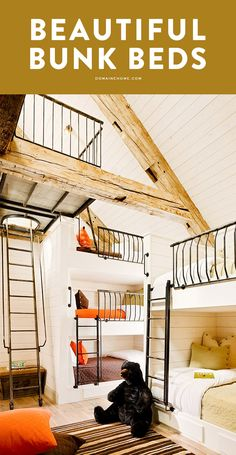 This might just make you want to trade in your King for a bunk bed.