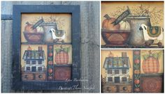 It's time for Pumpkin Harvest a design by Kim Hogue #decoartprojects #decorativepainting