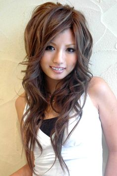 Japanese Hairstyles For Cute Girls 2012