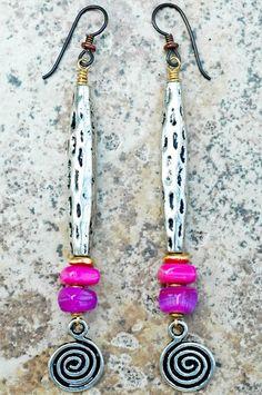 Xogallery earrings    Artisan Earrings   DIY Jewelry