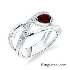 The Sculpture #Ring #Garnet #Ring #Garnet #Ring  #Jewelry http://blingterest.com/rings/fashion-rings/the-sculpture-ring-garnet-ring-garnet-ring-sr0164gg-jewelry/