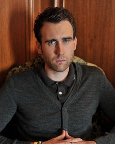 This cardigan stunner. | Let Us Not Forget That Neville Longbottom, AKA Matthew Lewis, Is Perfect